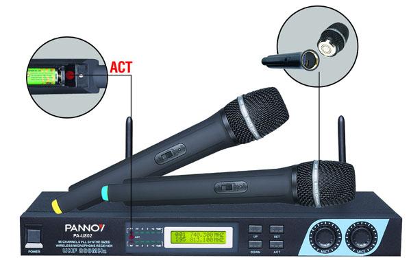 pa-u802 u段无线麦克风